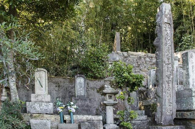 対馬 修善寺 陶山訥庵の墓
