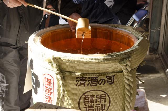 河内酒造蔵開き 樽酒