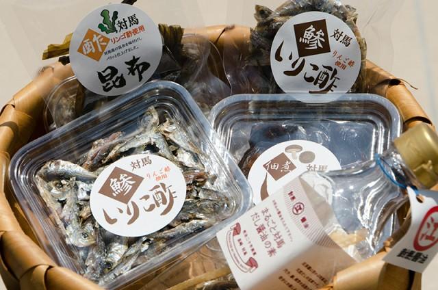 鯵のいりこ酢 酢昆布 椎茸佃煮