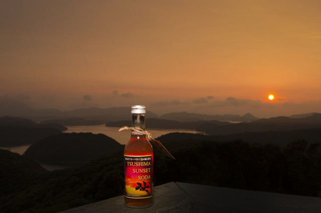 TSUSHIMA SUNSET SODA01