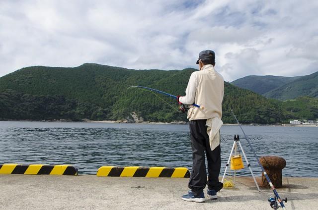 ぶっこみ釣り01