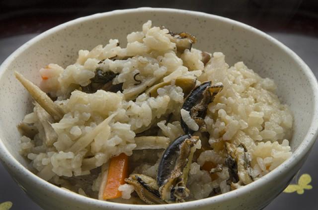 かた貝 炊き込みご飯