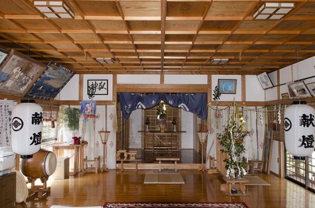 住吉神社 拝殿